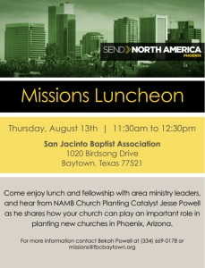 Missions Luncheon 8.13.15